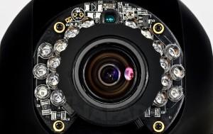 kamera z oświetlaczem IR